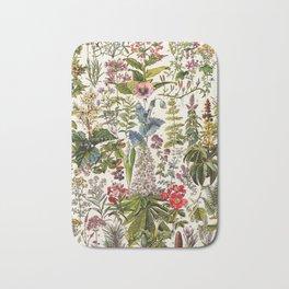 Adolphe Millot - Plantes Medicinales A - French vintage poster Bath Mat