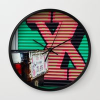 the xx Wall Clocks featuring XX by leaff