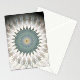 "Random 3D No. 68 ""Standing Mandala"" Stationery Cards"