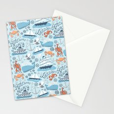 Nautical Pattern Stationery Cards