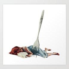 Sleep When You Die. Art Print