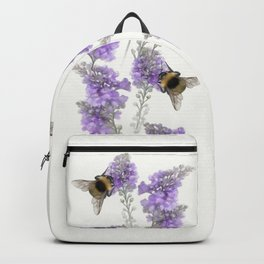 Watercolor Bumble Bee Backpack