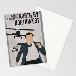 Alfred Hitchcock's North By Northwest Movie Print Stationery Cards