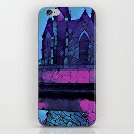 Stained Glass Church iPhone Skin