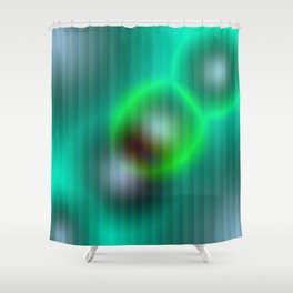 ovni 4 Shower Curtain
