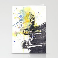 pulp fiction Stationery Cards featuring Pulp Fiction by idillard