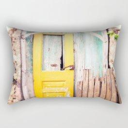 Yellow Door  Rectangular Pillow