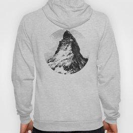 Circle geometric mountain Hoody