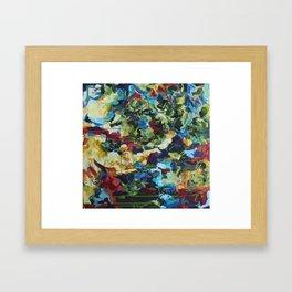 Fighting Fall Framed Art Print