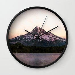Getting Lost at the Lake Wall Clock