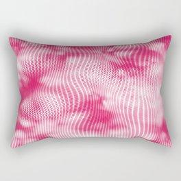 Pink abstract pattern Rectangular Pillow