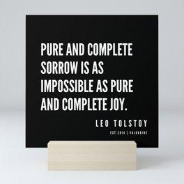 88   | Leo Tolstoy Quotes | 190608 Mini Art Print