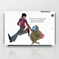 boob iPad Cases featuring We'll Take You Somewhere by Freya Lovell