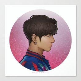 BTS Jungkook Canvas Print