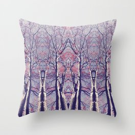 The Enchanted Forest No.1 Throw Pillow