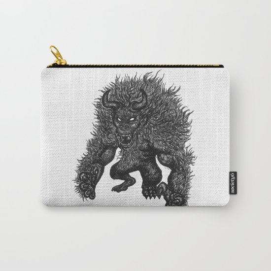 Primate's Wrath. Carry-All Pouch