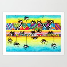 Spiders Art Print