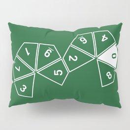 Unrolled D10 Pillow Sham