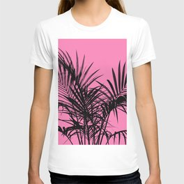 Little palm tree in black with pink T-shirt