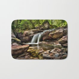 Summer Falls Bath Mat
