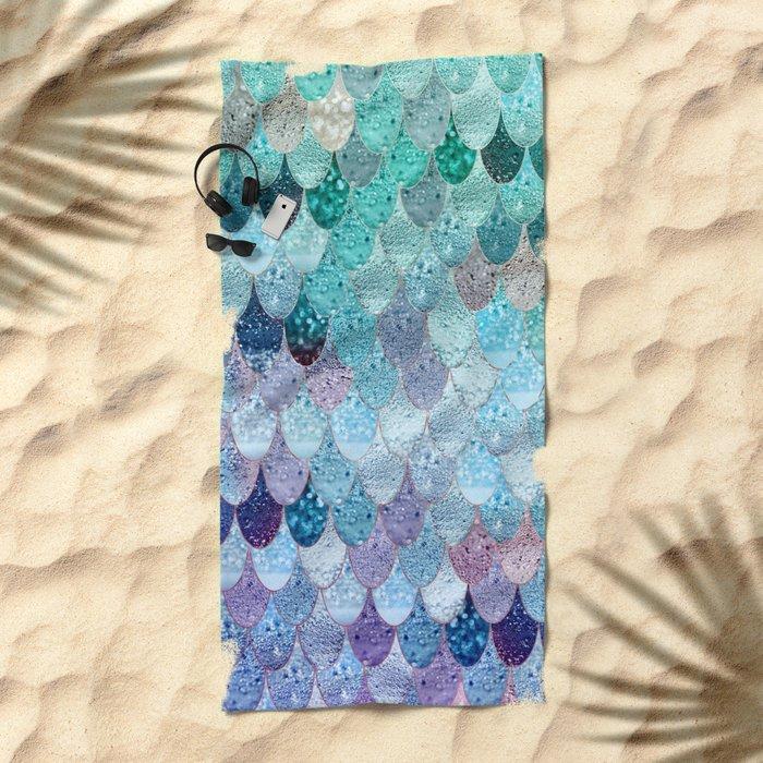 SUMMER MERMAID II Beach Towel