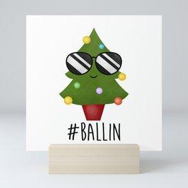 #Ballin Mini Art Print