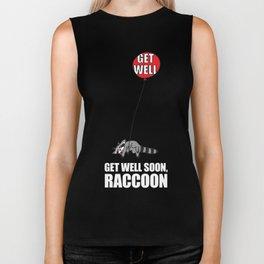 Get Well Soon, Raccoon Biker Tank
