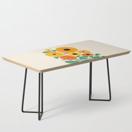 Sunflower and Bee Coffee Table