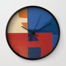 Sailing in a Sea of Doubts Wall Clock