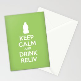Keep Calm and Drink Reliv - 24K Stationery Cards