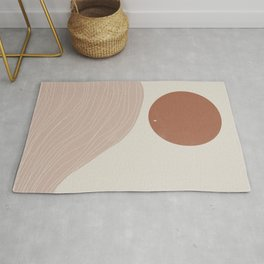 Wilde West, Abstract Landscape Rug