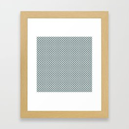 June Bug Polka Dots Framed Art Print
