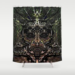 Rainbow Warrior Shower Curtain