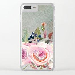 Flowers bouquet #42 Clear iPhone Case
