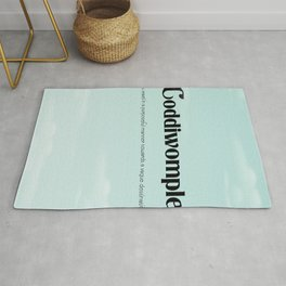 """Coddiwomple """"To travel in a purposeful manner towards a vague destination"""" Rug"""