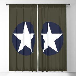 USAAF Roundel Blackout Curtain