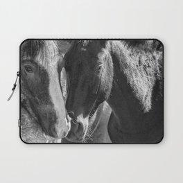Bachelor Stallions - Pryor Mustangs - BW Laptop Sleeve