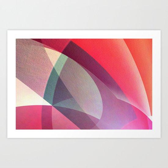 Abstract 2017 025 Art Print