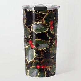 Ilex aquifolium Travel Mug