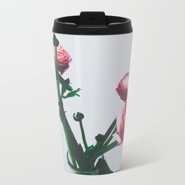 Floral Buds and Blooms Travel Mug