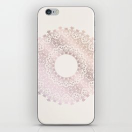 Rose Gold Mandala iPhone Skin