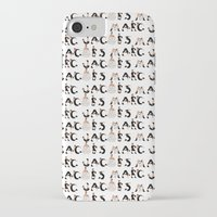 marc iPhone & iPod Cases featuring Marc Jacobs by cvrcak