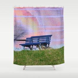 hidden sheep Shower Curtain