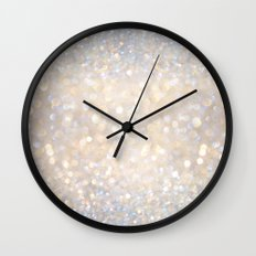 Glimmer of Light II (Ombré Glitter Abstract*) Wall Clock