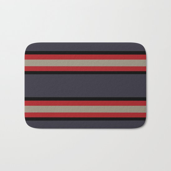 The Boldest Stripes, Bath Mat