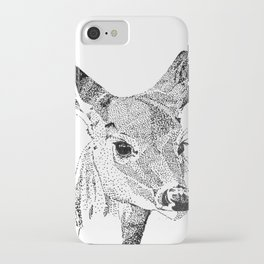 Deer Spirit iPhone Case