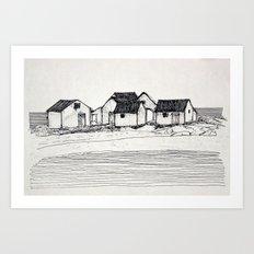 Les Galets de Natashquan Art Print