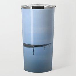Double blue Travel Mug