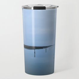 Double blue Travel Mug