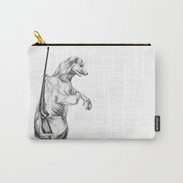 Hunting polar bear Carry-All Pouch